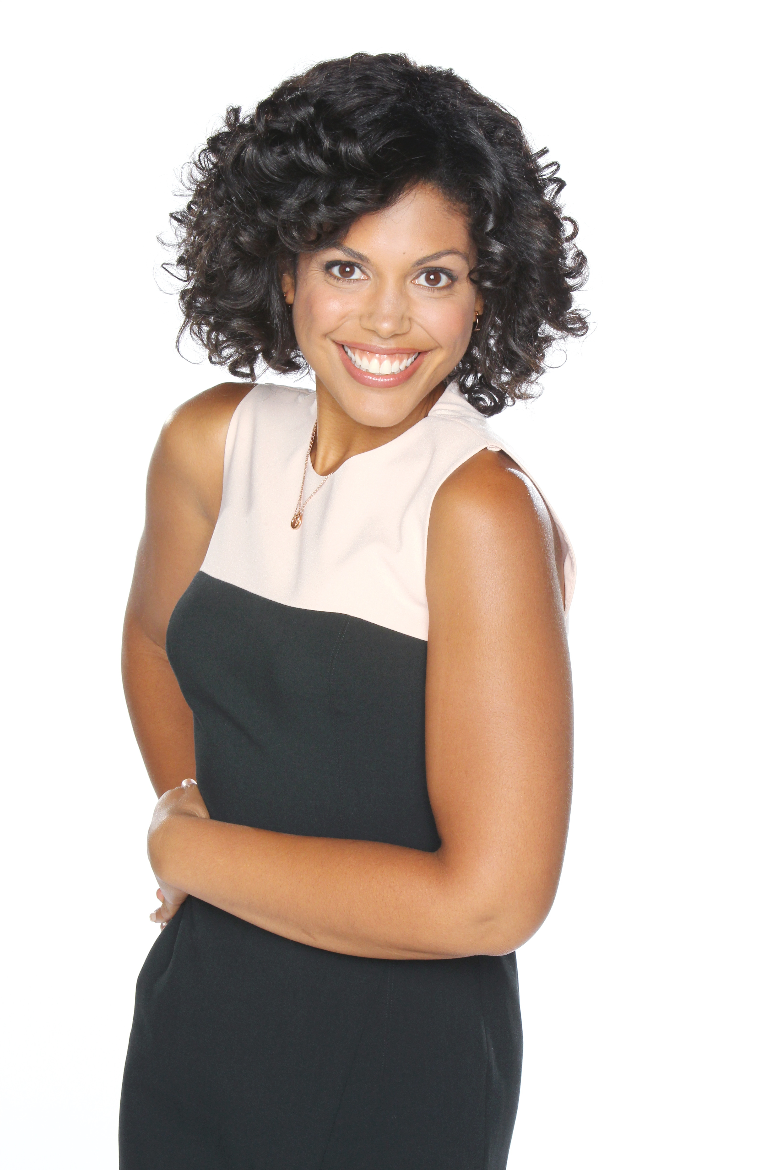 """""""The Bold and the Beautiful"""" Set with Karla Mosley"""