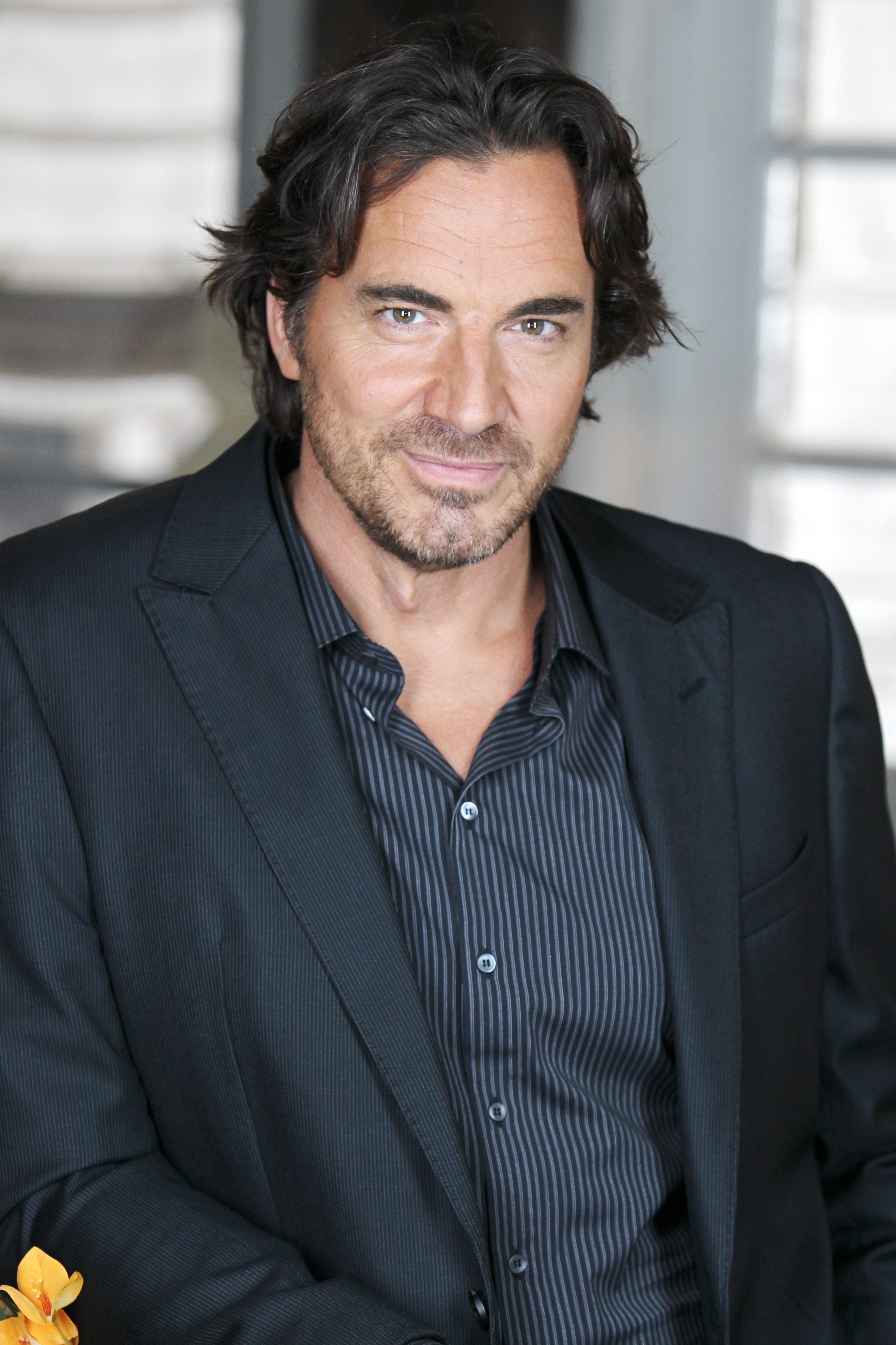 """The Bold and the Beautiful"" Set with Thorsten Kaye"