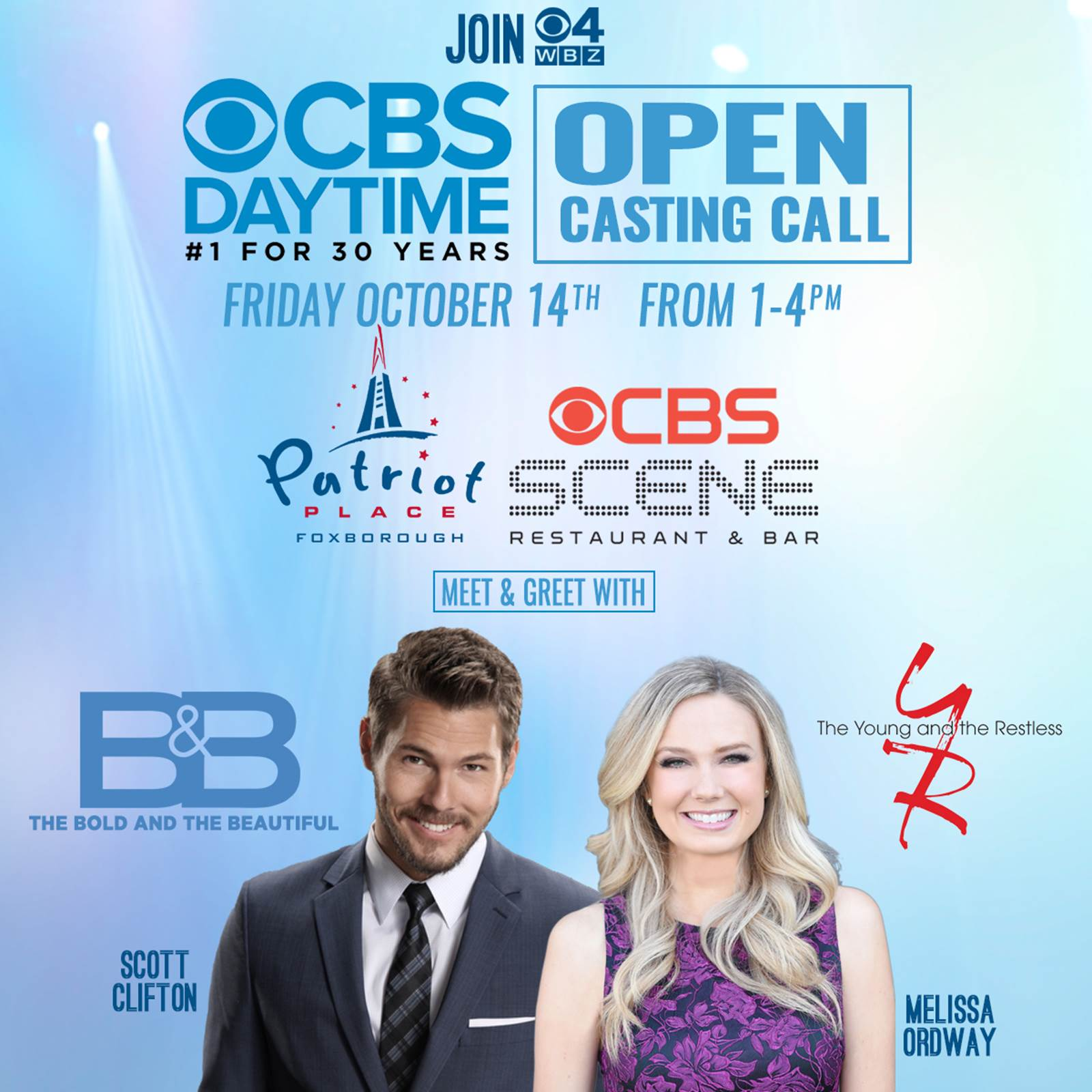Cbs Daytime Casting Call In Boston Soap Opera Digest