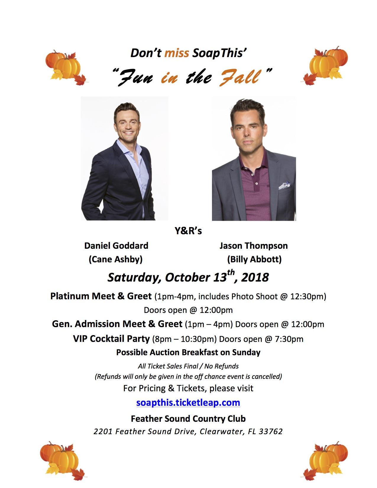 Fun in the Fall Oct 2018