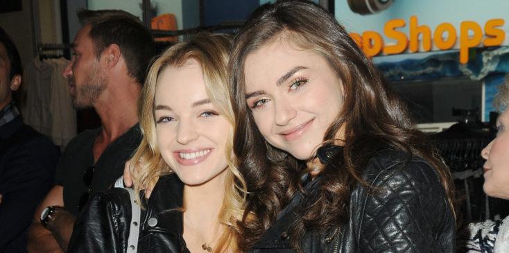 Olivia and Victoria